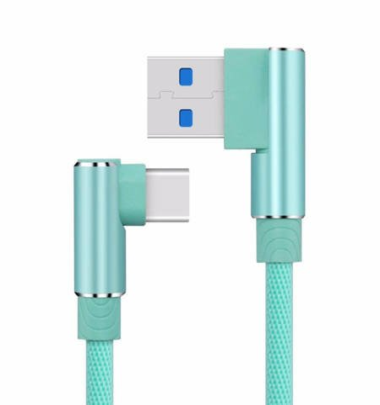 KĄTOWY PRZEWÓD USB-C